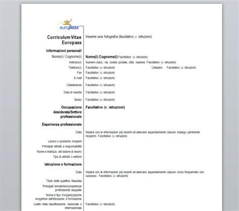 download gratis curriculum vitae europeo da compilare pdf reader curriculum vitae europass download gratis