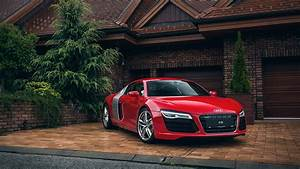Audi Garage : audi r8 red car house garage wallpaper 1920x1080 full hd resolution wallpaper download ~ Gottalentnigeria.com Avis de Voitures