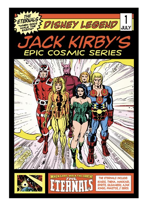 Disney's Hollywood Studios Celebrates Jack Kirby and 'The ...