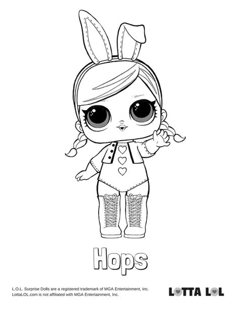 Coloring Lol Splash by Lol Doll Coloring Pages Splash