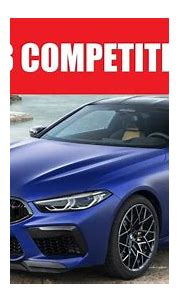 BMW M8 Competition Coupe design-interior-driving footage ...