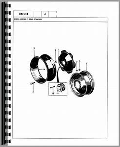 Ford 445a Tractor Loader Backhoe Parts Manual