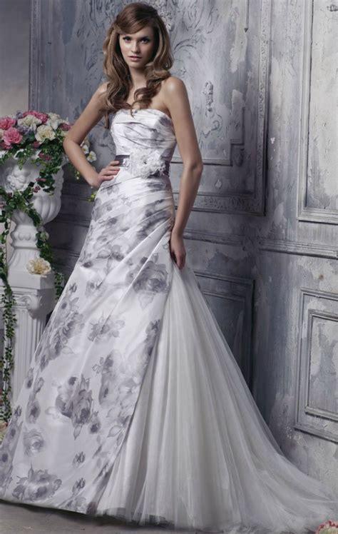 wedding dresses  printed