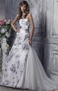 wedding dresses get printed in 2012 With printed wedding dress