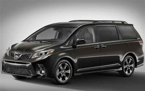 toyota models 2019 toyota sienna hybrid redesign spy shots car models
