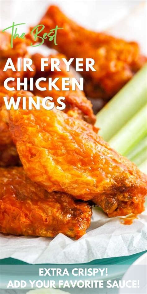 fryer air chicken wings recipe crispy recipes baking powder extra wing oven