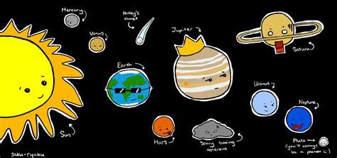 Chibi Solar System By Naarazheng On Deviantart