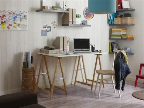 bureau ikea treteaux 39 idées déco de tréteaux pour créer une table ou un bureau tréteaux pour créer et idee deco