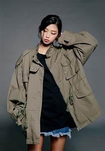 Military jacket on Tumblr