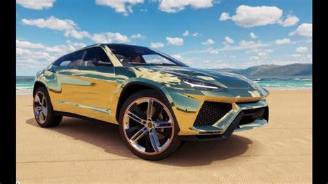 Forza Horizon 3  Gold Lamborghini Urus  Pc Youtube