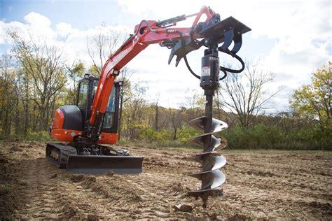 mini excavator earth auger bits premier auger