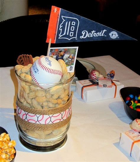1000+ Images About Baseball Table Decorations On Pinterest