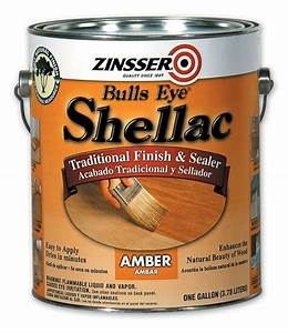 Amber Shellac: The classic finish for knotty pine - made