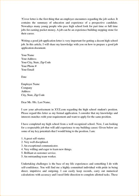 Do Employers Read Cover Letters by Cover Letter Template High School Tweetie Resume Cover