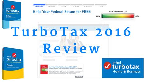 turbotax 2017 review overview top financial tools