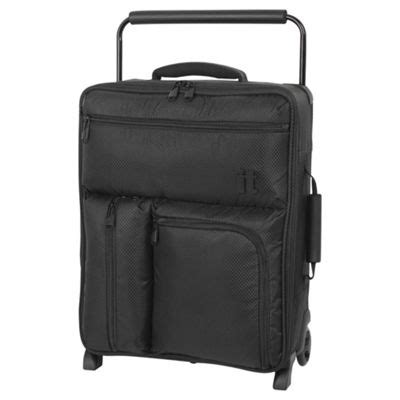 Buy It Luggage World's Lightest Ryanair 2 Wheel Black