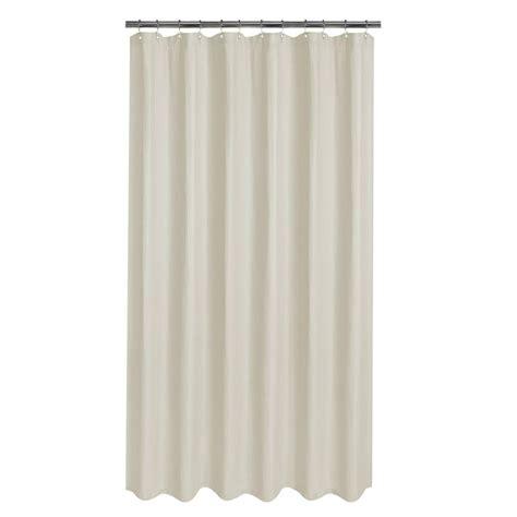 glacier bay luxury spa waffle fabric shower curtain in