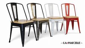 Chaise Style Industriel : chaise couleur ~ Teatrodelosmanantiales.com Idées de Décoration