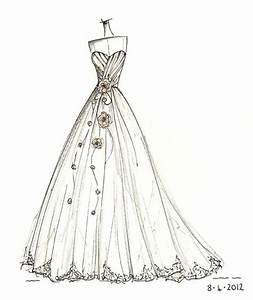 wedding dress sketch | wedding dress sketches | Pinterest ...