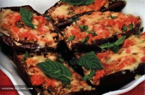 recette cuisine aubergine recette aubergines farcies au four le grand livre de