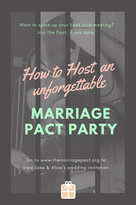 How To Host A Great Book Club Party For The Marriage Pact