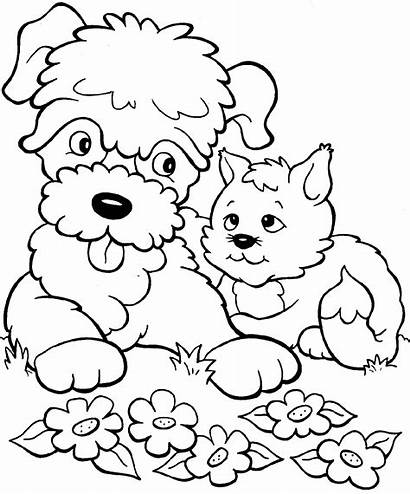 Coloring Kitten Printable Pages