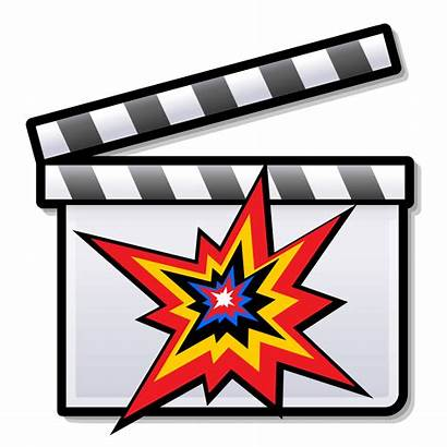 Action Film Clipart Clapperboard Svg Wikipedia Films