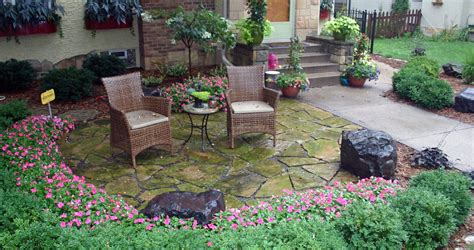front yard patio design landscaping gardening ideas
