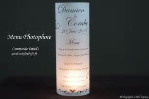 photophore menu mariage menu photophore artdcostyle décorations de mariage location housse de chaise mariage