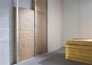 Isolation Phonique Mur Chambre : isolation phonique de votre mur traitement acoustique ~ Premium-room.com Idées de Décoration