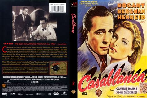 casablanca afi  scan  dvd scanned covers