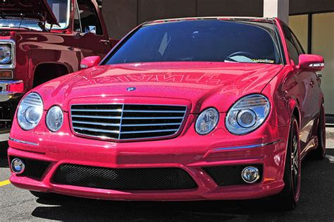 Pink Mercedes On Tumblr