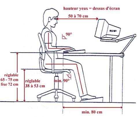 hauteur standard d un bureau vos questions sur le mobilier achatsverts