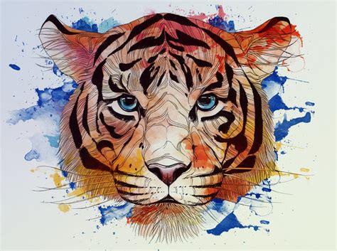 Artist Alexandra Laza Creates Magical Animal Themed Line Art