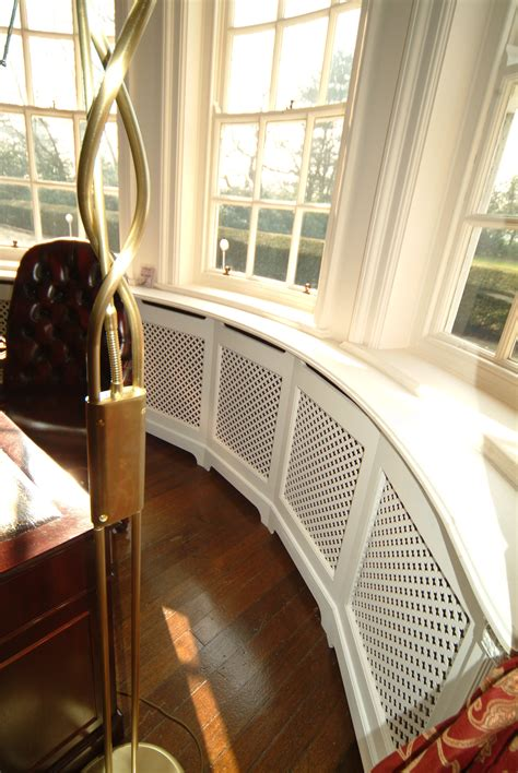 Window Cover For Home by Made To Order Curved Radiator Cabinet For Bay Windows