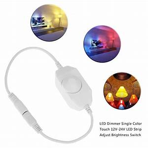 Aliexpress Com   Buy 12 24v Manual Knob Led Control Dimmer
