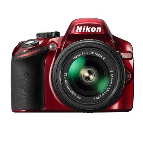 nikon d3200 dslr 18 55mm vr lens kit nikon d3200 digital slr and 18 55mm vr ii lens kit