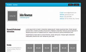 20 best free html resume templates by trendy theme for Personal resume website templates free download