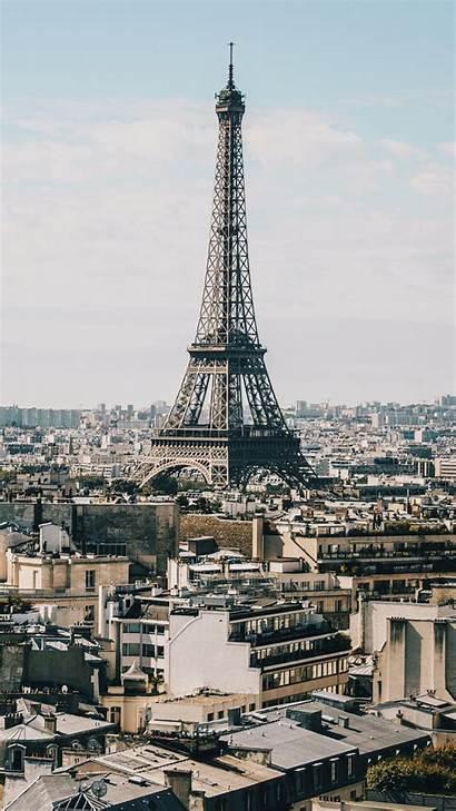 Eiffel Tower Paris Iphone Aesthetic Buildings Pastel