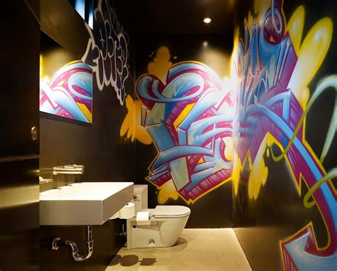 graffiti interiors home art murals  decor ideas