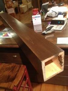fabricated beam and post covering pro pin the pine wood With fausse poutre de decoration