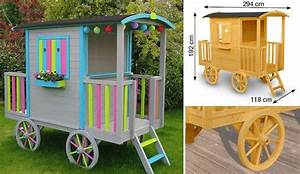 Cabane Bois Leroy Merlin : fabriquer cabane roulotte ~ Melissatoandfro.com Idées de Décoration