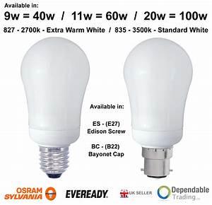 Energiesparlampen E27 100w : branded gls standard light bulbs 40w 60w 100w 150w 200w es e27 bc b22 opal clear ebay ~ Pilothousefishingboats.com Haus und Dekorationen