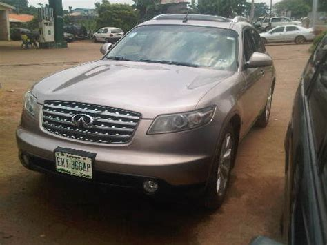 nissan jeep 2004 a registered nissan infinity jeep fx35 for sale 2004 model