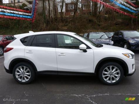 Crystal White Pearl Mica 2014 Mazda Cx-5 Grand Touring Awd