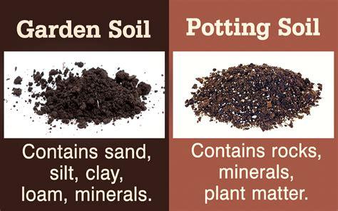 Garden Soil Vs. Potting Soil