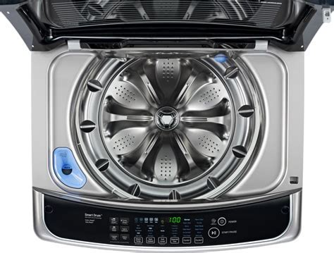 LG WT1701CV 27 Inch 4.9 cu. ft. Top Load Washer with 12