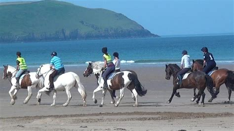 Horse Riding Lessons Down Woolacombe Surf Beach North