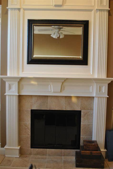 White Fireplace Surround Ideas  Fireplace Pinterest