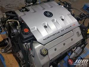 00 02 Cadillac Seville Northstar 4 6l V8 Dohc Engine Auto